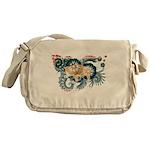 Wyoming Flag Messenger Bag