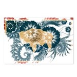 Wyoming Flag Postcards (Package of 8)