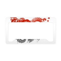 Yemen Flag License Plate Holder
