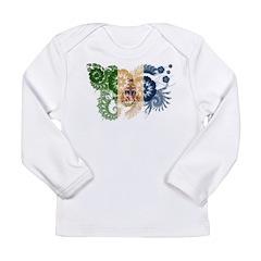 Yukon Territories Flag Long Sleeve Infant T-Shirt