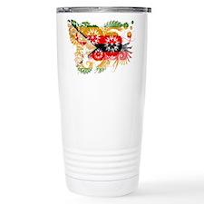 Zimbabwe Flag Travel Mug