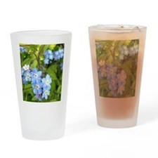 forget-me-not Drinking Glass