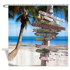 Key West Sign Shower Curtain