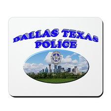 Dallas PD Skyline Mousepad