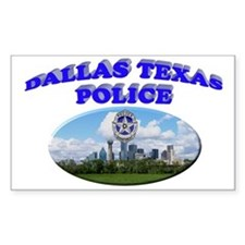 Dallas PD Skyline Decal