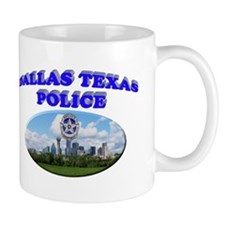 Dallas PD Skyline Mug