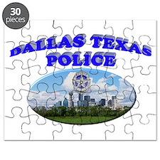 Dallas PD Skyline Puzzle