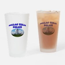 Dallas PD Skyline Drinking Glass