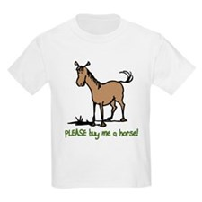 trans-please_buy_me_a_horse_trans T-Shirt