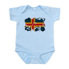 Aland Flag Infant Bodysuit