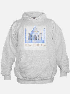 """Pixel Taj Mahal"" Hoodie"