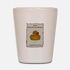 Wanted - Ducky Shot Glass