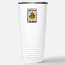 Wanted - Ducky Travel Mug