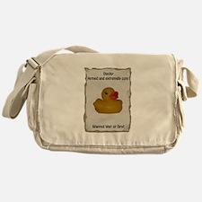 Wanted - Ducky Messenger Bag