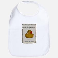 Wanted - Ducky Bib