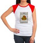 Wanted - Ducky Women's Cap Sleeve T-Shirt