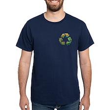 Recycle -Tie-Dye T-Shirt