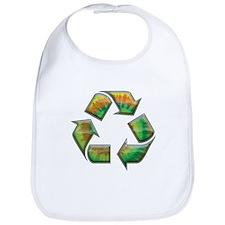 Recycle -Tie-Dye Bib
