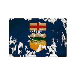 Alberta Flag Rectangle Magnet (10 pack)