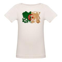 Algeria Flag Organic Baby T-Shirt
