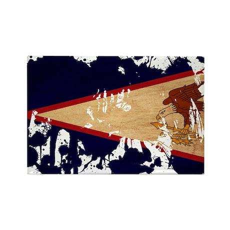 American Samoa Flag Rectangle Magnet