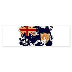 Anguilla Flag Bumper Sticker