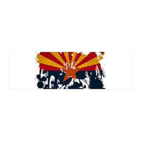 Arizona Flag 42x14 Wall Peel