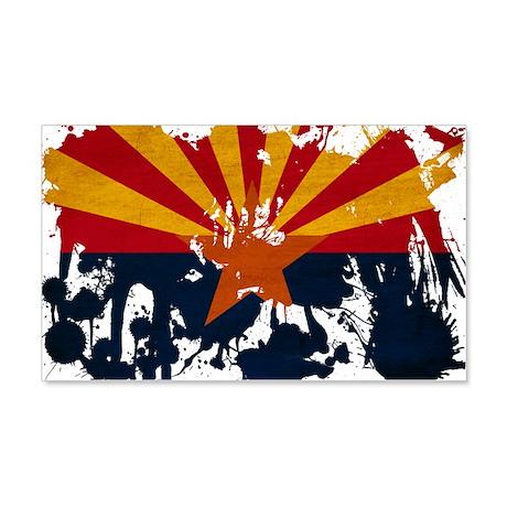 Arizona Flag 22x14 Wall Peel