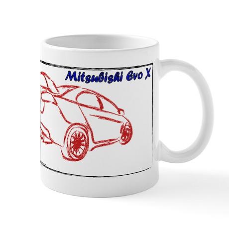 Evo X Mug