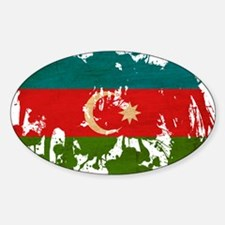 Azerbaijan Flag Decal