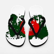 Bangladesh Flag Flip Flops