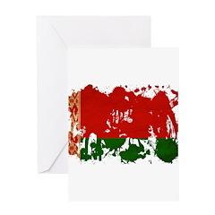 Belarus Flag Greeting Card