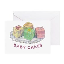 BABY CAKES Greeting Card