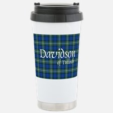 Tartan - Davidson of Tulloch Stainless Steel Trave