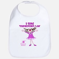 I Sing therefore I am Bib