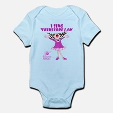 I Sing therefore I am Infant Bodysuit
