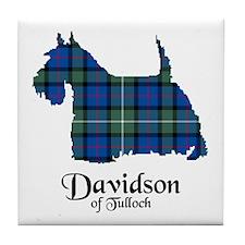 Terrier - Davidson of Tulloch Tile Coaster