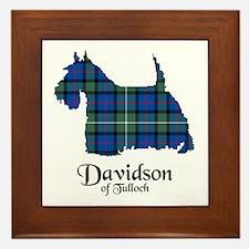 Terrier - Davidson of Tulloch Framed Tile