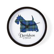 Terrier - Davidson of Tulloch Wall Clock