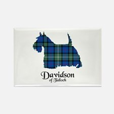 Terrier - Davidson of Tulloch Rectangle Magnet