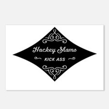 Hockey Moms Kick Ass Postcards (Package of 8)