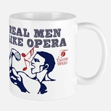 Real Men LIke Opera Mug