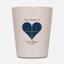 Heart - Davidson of Tulloch Shot Glass