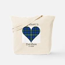 Heart - Davidson of Tulloch Tote Bag