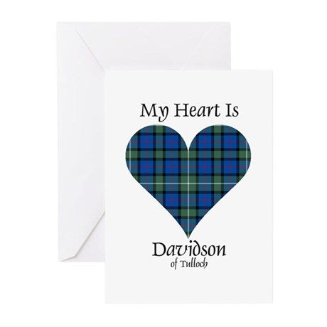 Heart - Davidson of Tulloch Greeting Cards (Pk of
