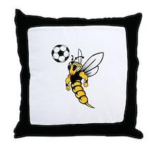 Soccer Wasp Pillow
