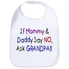 Ask Grandpa! Bib