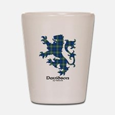Lion - Davidson of Tulloch Shot Glass