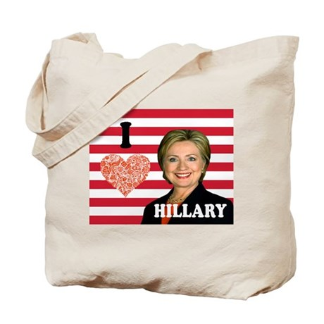 Love Hillary Tote Bag