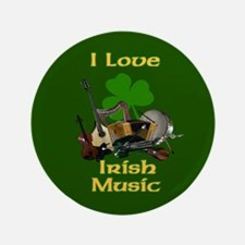 "IRISH MUSIC 3.5"" Button"